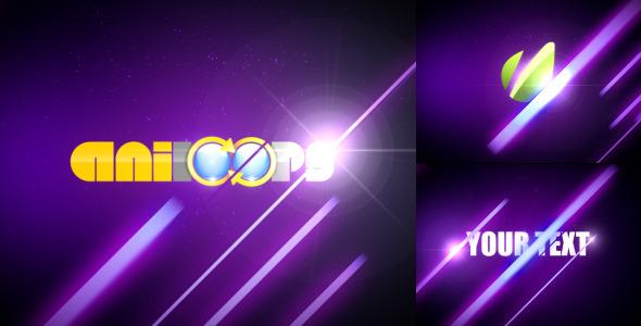 VideoHive Light Streaks Logo Reveler 2440532