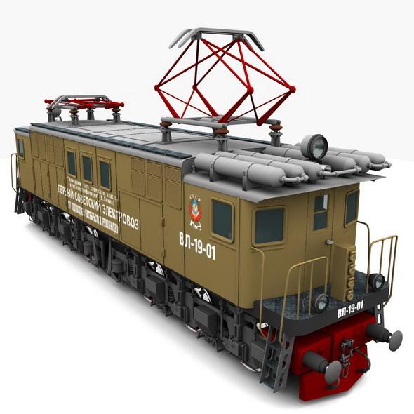 3DOcean Locomotive 2440887