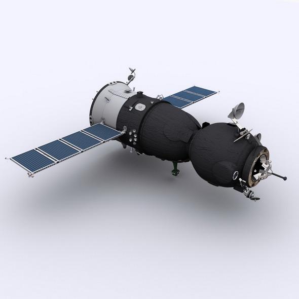 Soyuz TMA Spaceship - 3DOcean Item for Sale
