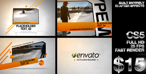 After Effects Project - VideoHive Orange Funk 2308621