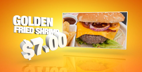 VideoHive Restaurant Promotion 2413969