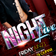 Night Live Flyer Template - GraphicRiver Item for Sale