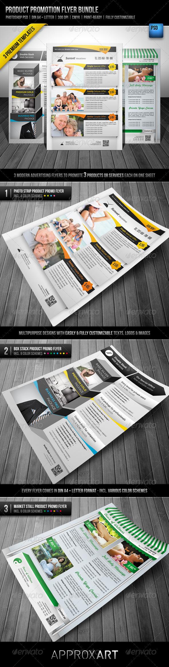 GraphicRiver Product Promotion Flyer Bundle 2444914