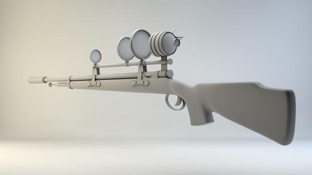 3DOcean Sniper Rifle 2444980