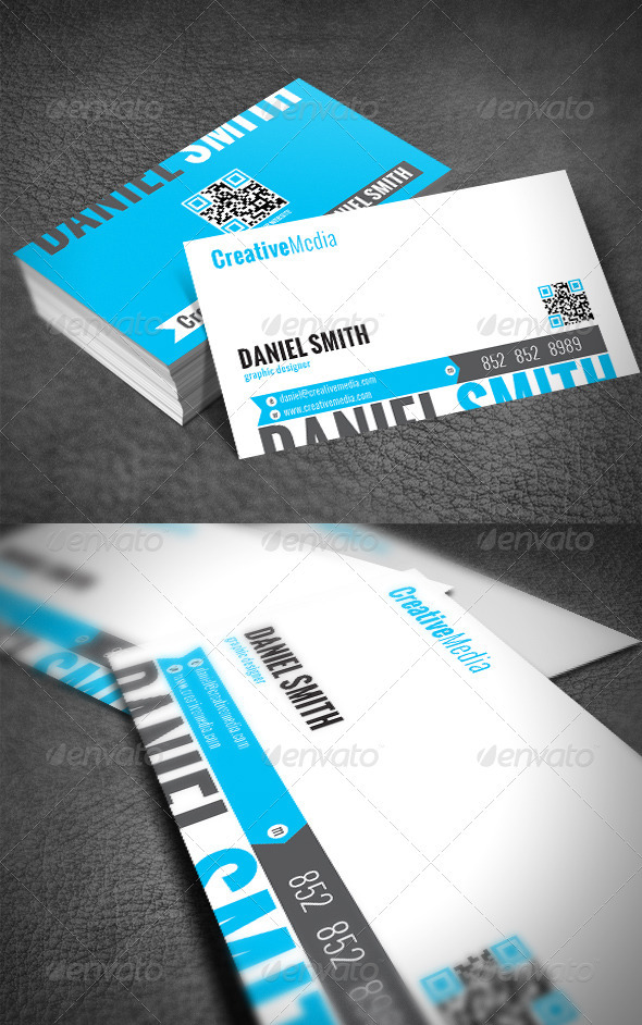 GraphicRiver Clean Modern Business Card 2446624