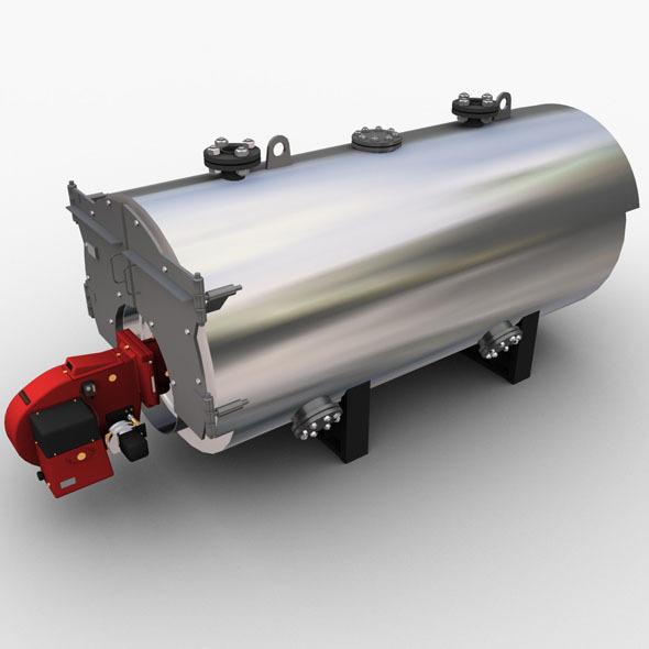 3DOcean Gas Boiler 2446839