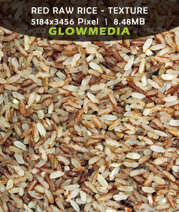 GraphicRiver Red Raw Rice Textural Background 2447568