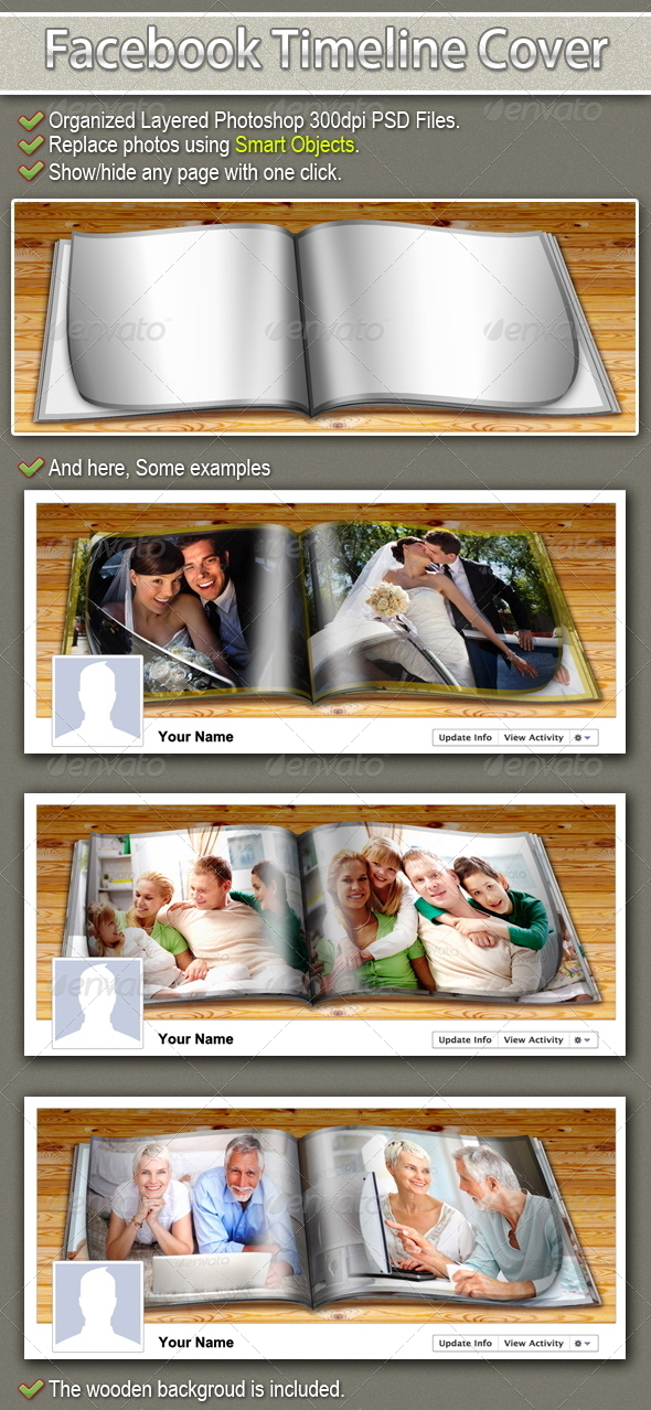 GraphicRiver Facebook Timeline Cover my Album 2348611