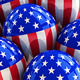 Patriotic USA Party Balloons - GraphicRiver Item for Sale