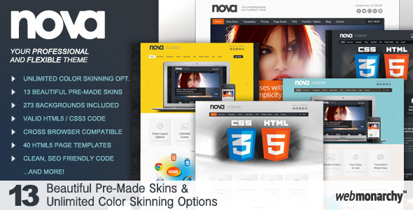 Nova - Professional & Flexible HTML5 Template