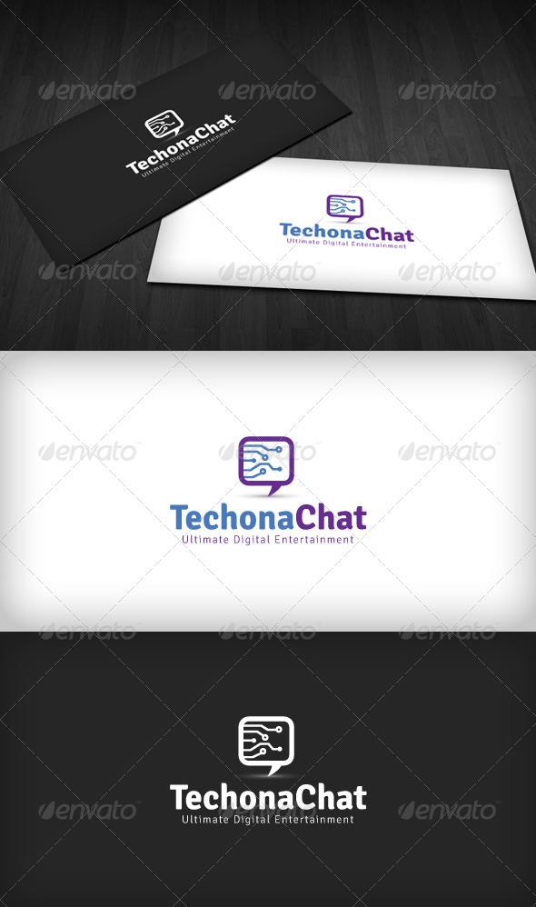 Techno Chat Logo