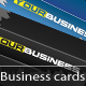 Fresh and Dark Business Cards - GraphicRiver Item for Sale