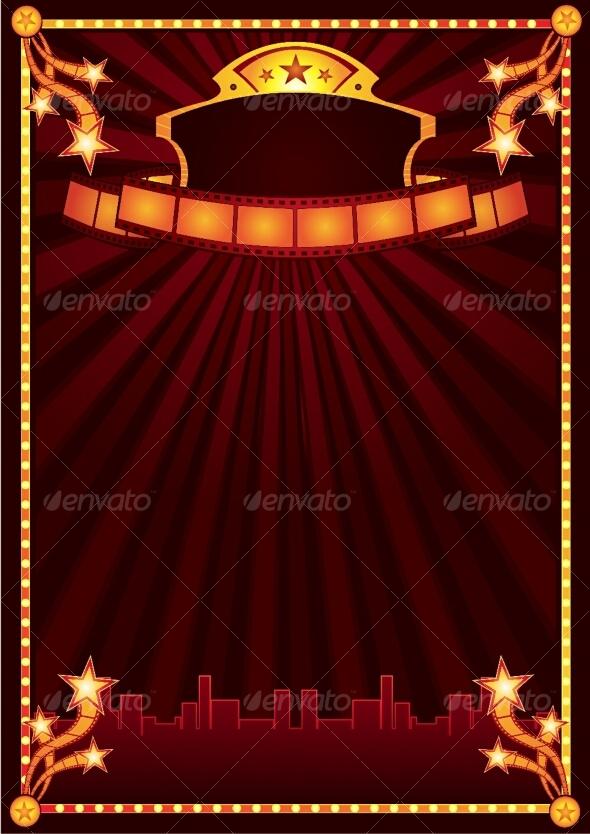 GraphicRiver Cinema announcement 89802