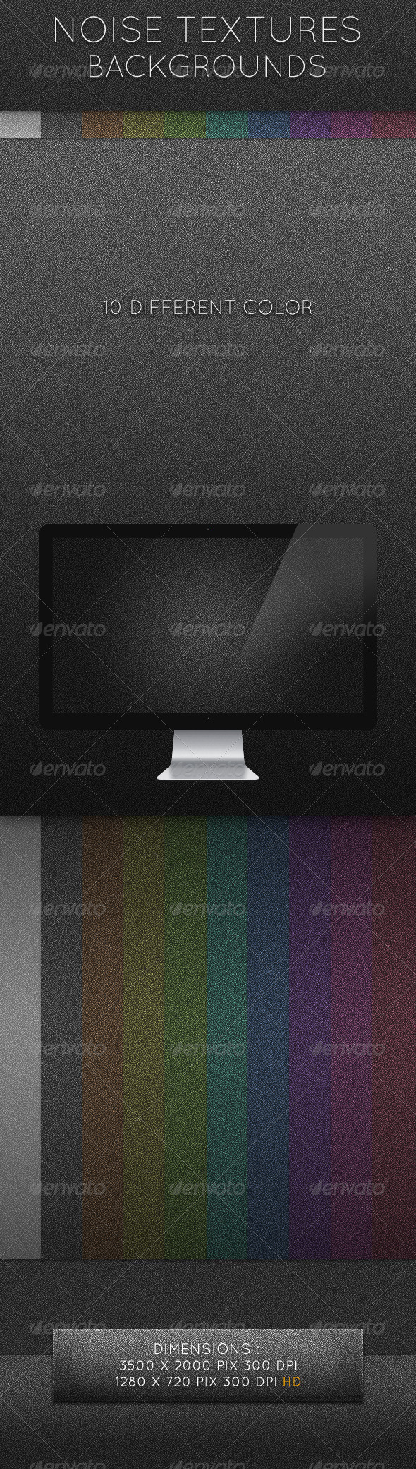 GraphicRiver Noise Textures Background 2452364