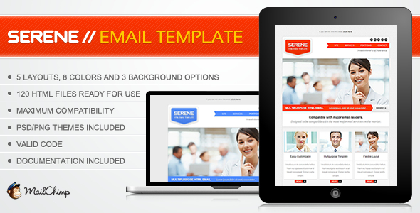 Serene Email Template
