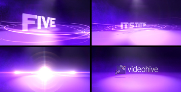 After Effects Project - VideoHive Logo Lights 2453253