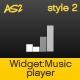 Widget: Music Player - ActiveDen Item for Sale