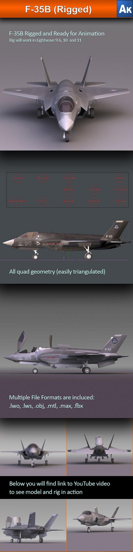 3DOcean F-35B 2454214