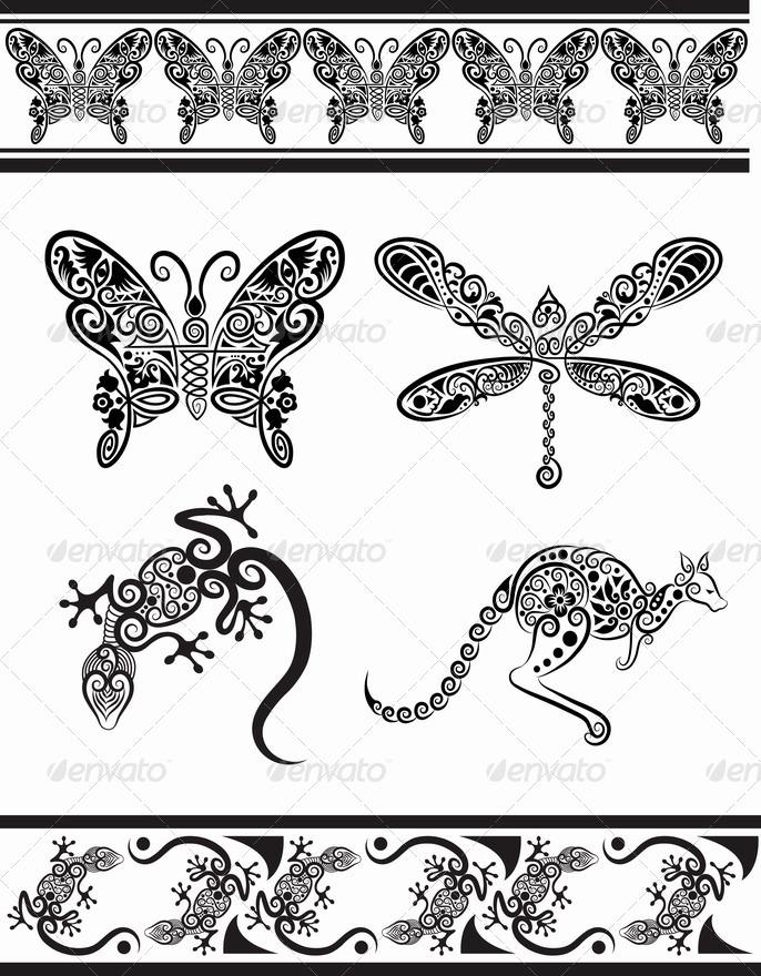 Animal ornaments (series 1)