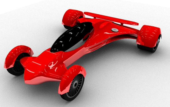 3DOcean Race Car 89415