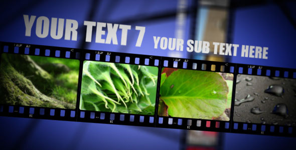 After Effects Project - VideoHive Film Strip Show V1 90005