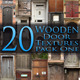 20 Wooden Door Textures - Pack One - GraphicRiver Item for Sale