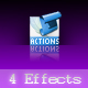 4 Super Effects (Actions) - GraphicRiver Item for Sale