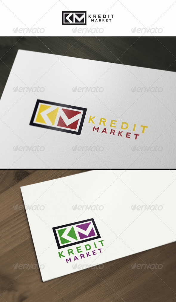 Kredit Market - Symbols Logo Templates