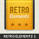 Retro Web Elements Vol. 2 - GraphicRiver Item for Sale