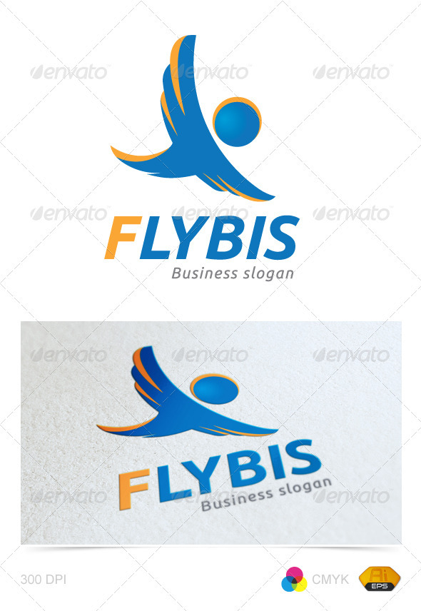 GraphicRiver Flybis Business Logo 2451679