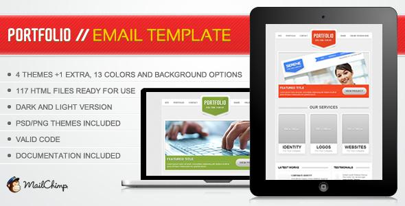 Portfolio Email Template