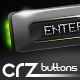 8 Glossy Hi-Tech Buttons - GraphicRiver Item for Sale