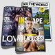 3 Professional Magazine Cover Templates - GraphicRiver Item for Sale