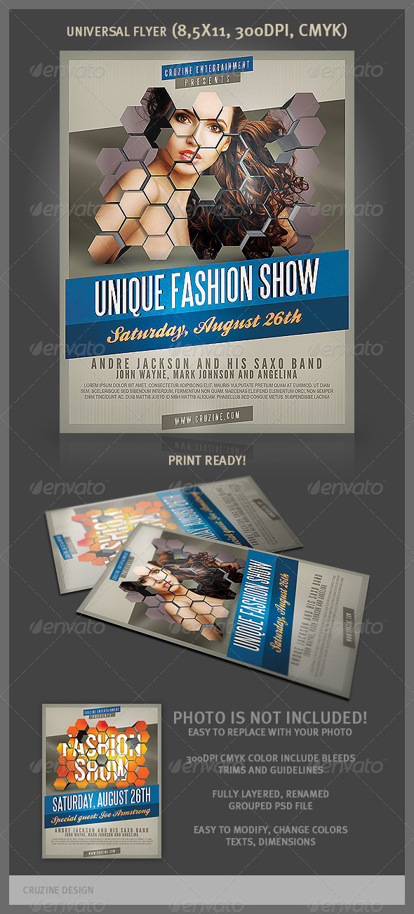 Universal Flyer Template - Miscellaneous Events