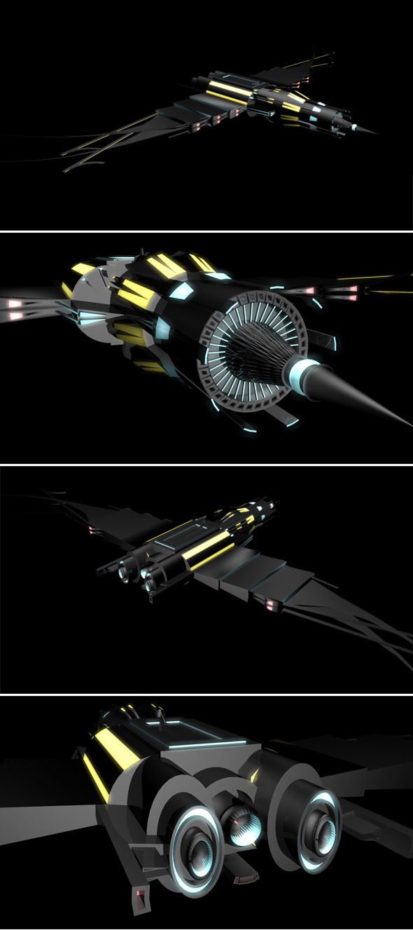 3DOcean Space Ship 2449448