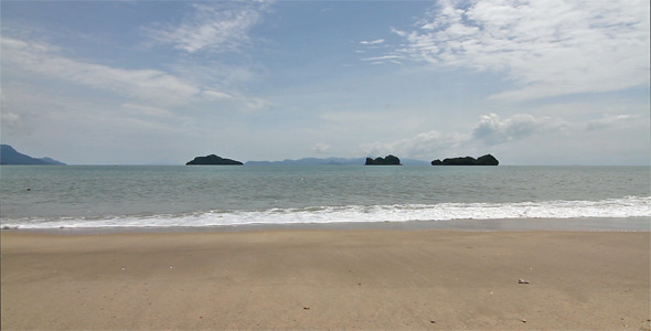 Beach Of Andaman Sea2