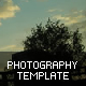 Simple Photography Template - ActiveDen Item for Sale