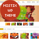Mistix: A Minimal Creative Wordpress Theme - ThemeForest Item for Sale