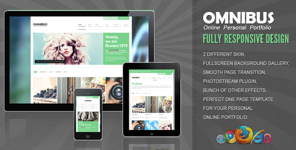 Omnibus – Fully Responsive One Page Template
