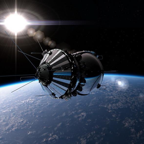 3DOcean Russian Spaceship Vostok 1 2463341
