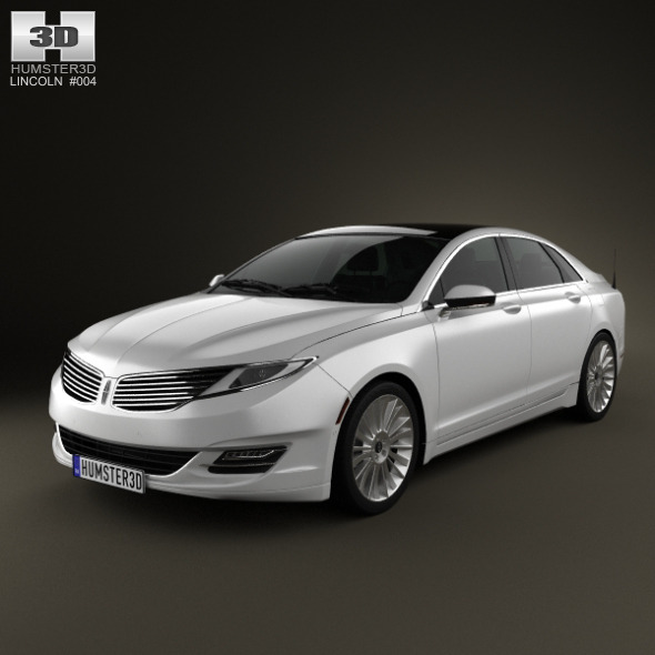 3DOcean Lincoln MKZ 2013 2463810
