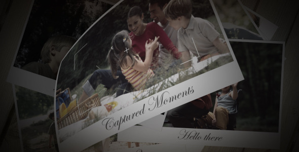 After Effects Project - VideoHive Captured Moments 2463996