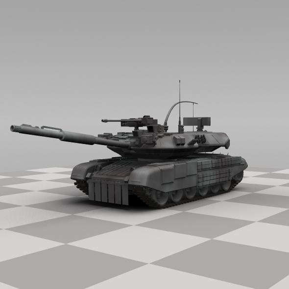 3DOcean Russian Tank 90316