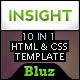INSIGHT – 10 in 1 Premium Portfolio Template  Free Download