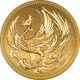 vector Japanese money gold coin with phoenix - GraphicRiver Item for Sale