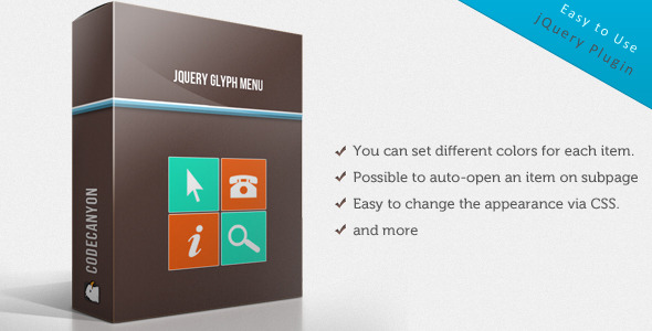 CodeCanyon jQuery Glyph Menu 2418146