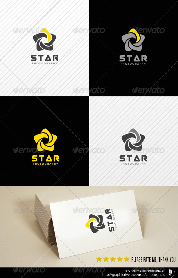 Start Photography Logo Template - Abstract Logo Templates