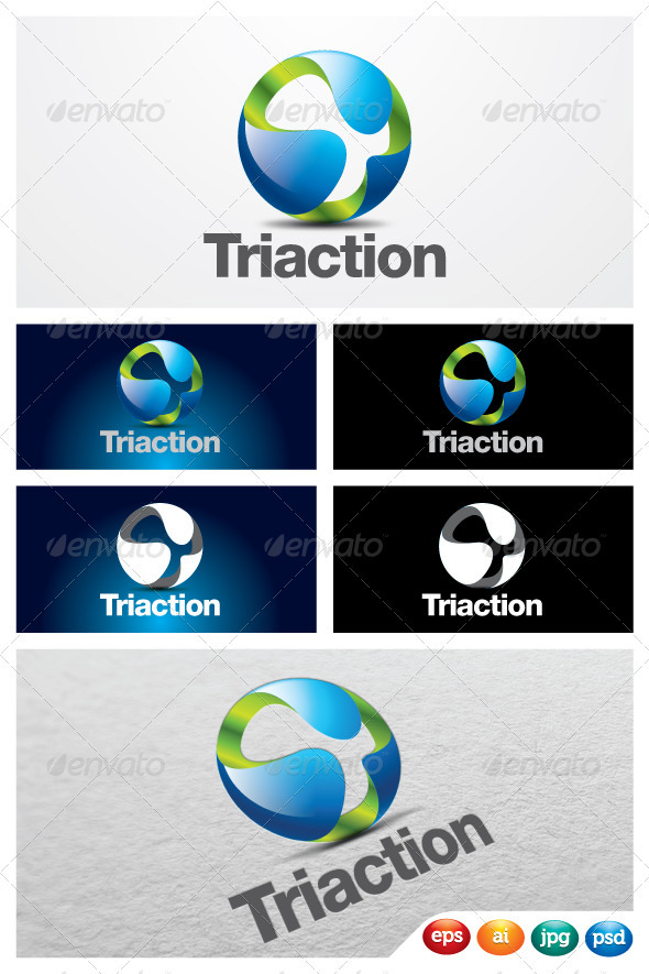 GraphicRiver Triaction 2465082