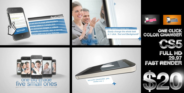 After Effects Project - VideoHive Phone Promotion 2411601