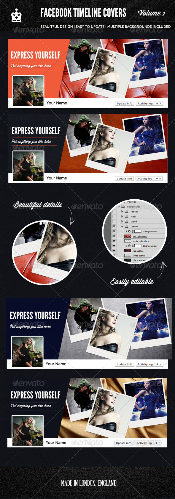 GraphicRiver Facebook Timeline Covers 1st Edition 2453578